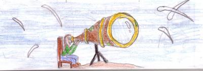 El telescopio corto de vista